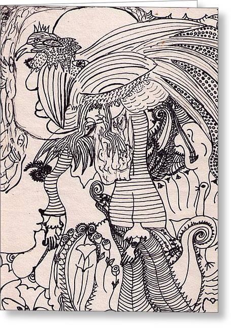 Dreams Visions Greeting Card