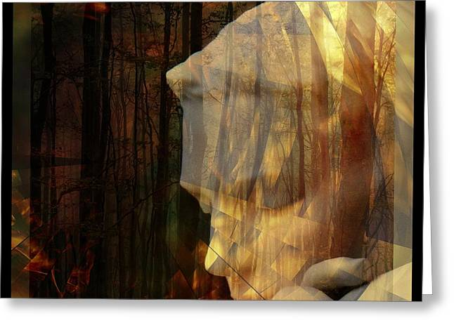 Of Lucid Dreams / Dreamscape 3 Greeting Card