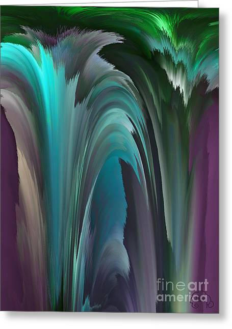 Dreamscape Greeting Card by Patricia Kay