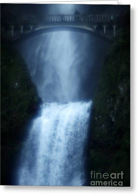 Dreamy Bridge Greeting Card