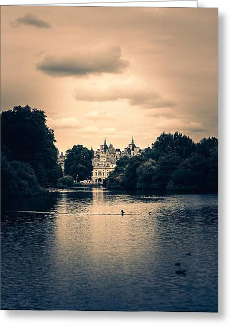 Dreamy Palace Greeting Card by Lenny Carter