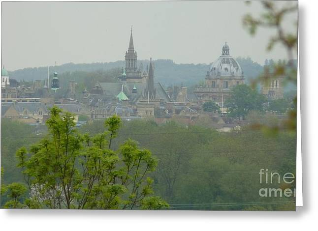 Dreamy Spires Greeting Card