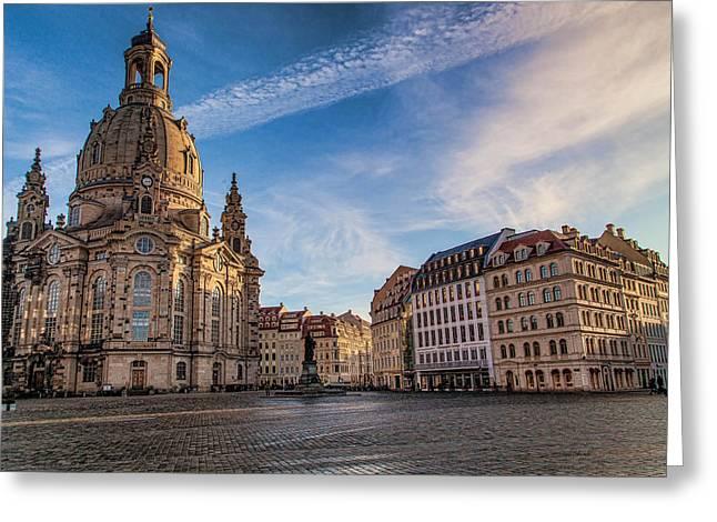 Dresden Frauenkirche Greeting Card