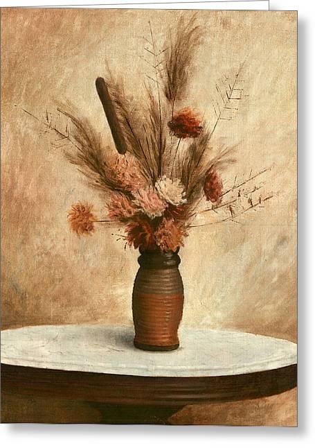 Dried Flower Arrangement Greeting Card