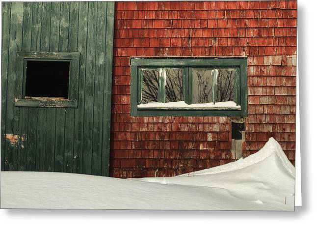 Drifted In Greeting Card by Susan Capuano