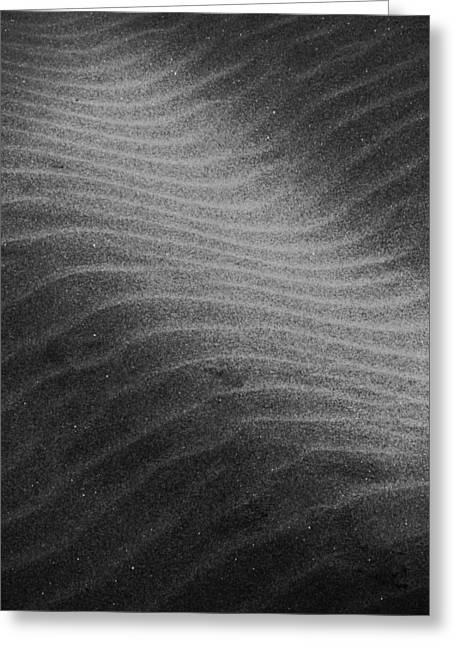 Greeting Card featuring the photograph Drifting Sand by Aaron Berg