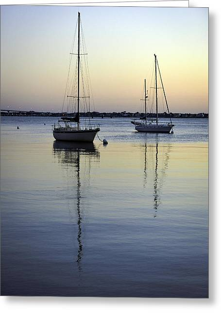 Drifting Sunrise Greeting Card
