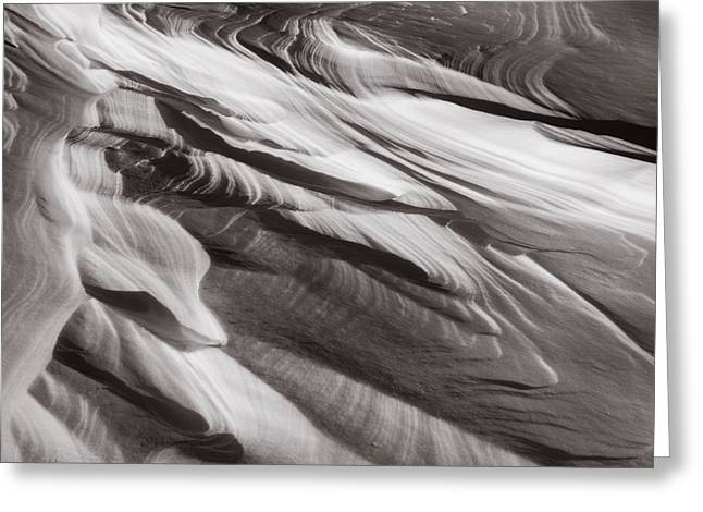 Drifts Abstract Greeting Card