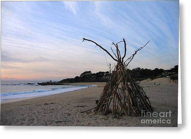 Driftwood Tipi Greeting Card