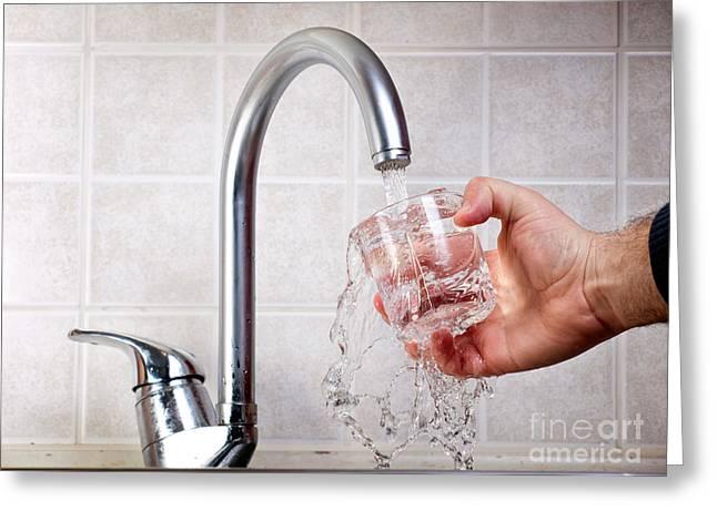 Drinkable Water Greeting Card