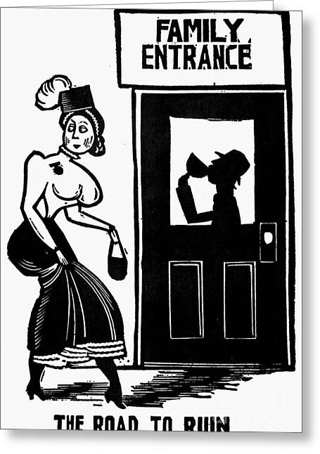 Drinking, C1925 Greeting Card by Granger