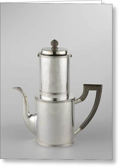 Drip Filter Coffee Pot Greeting Card by Quint Lox