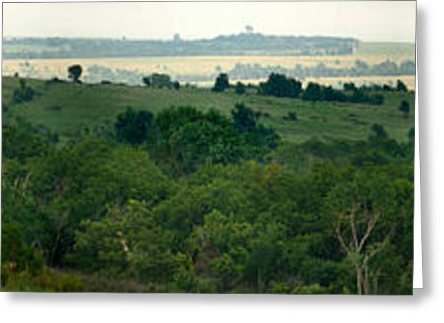 Drive The Flint Hills Greeting Card