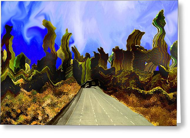 Drive Thru 1 Greeting Card by Bruce Iorio