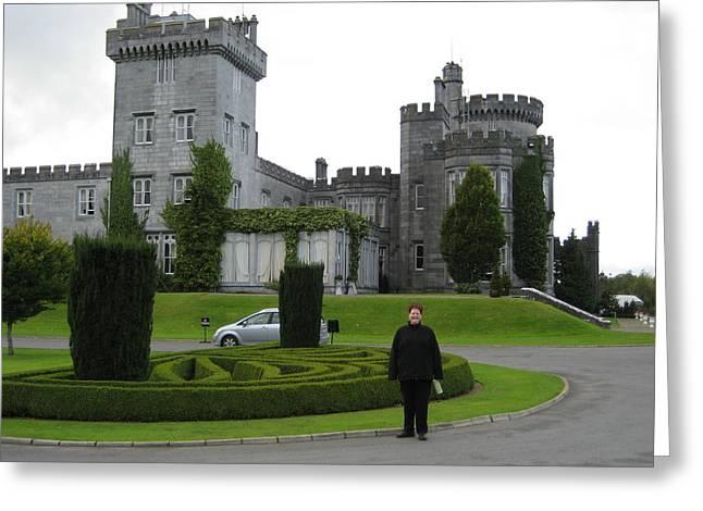 Dromoland Castle Greeting Card by Dotti Hannum