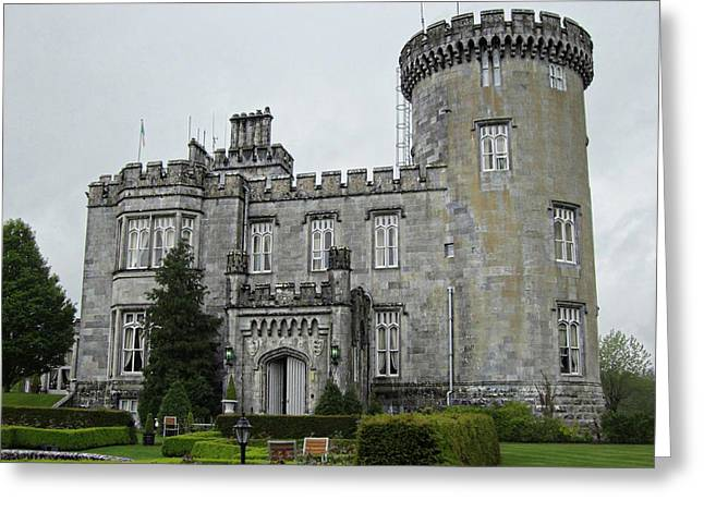 Dromoland Castle Greeting Card by Kelly Schutz