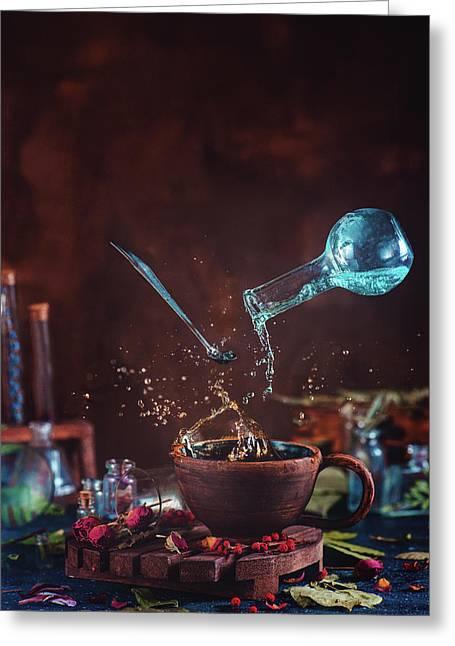 Drop Of Potion Greeting Card
