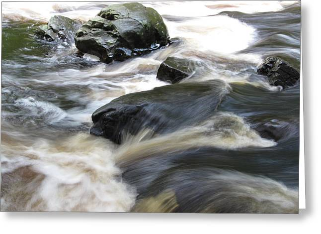 Drowning Images Greeting Card by Richard Reeve