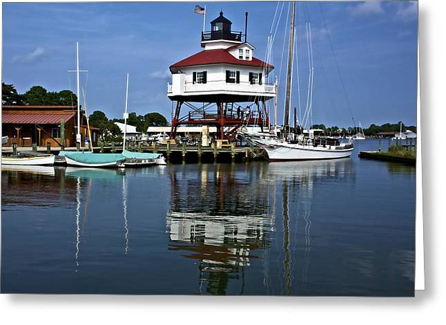 Drum Point Light House Greeting Card