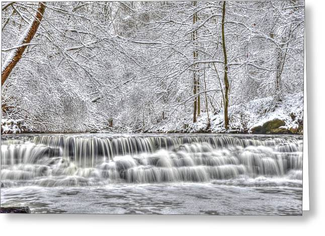 Dry Creek Winter Greeting Card