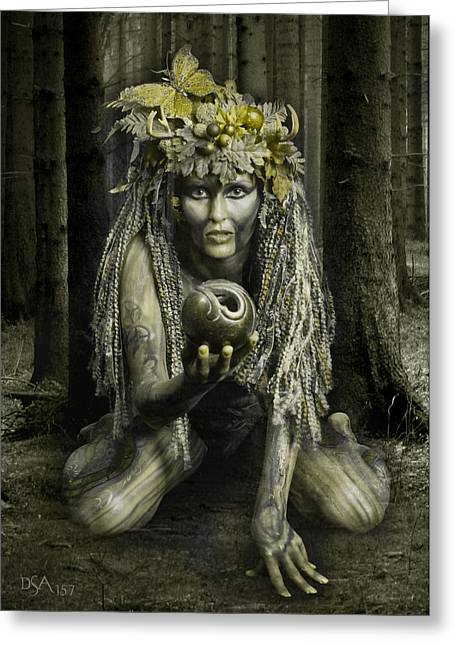 Dryad I Greeting Card by David April