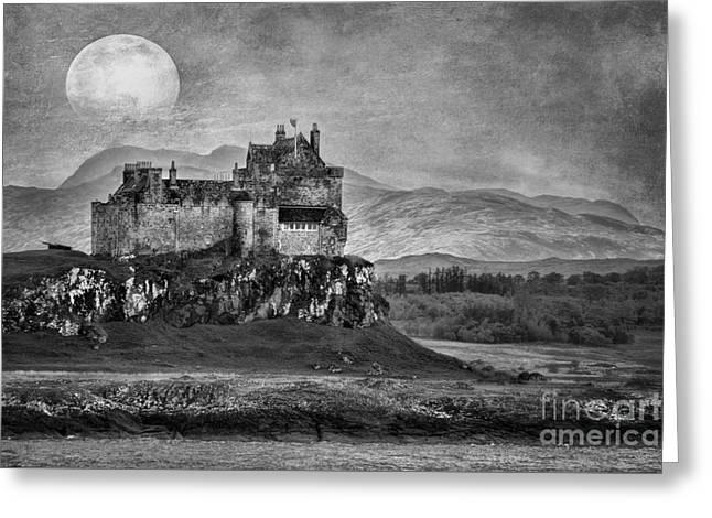 Duart Castle Scotland Greeting Card by Juli Scalzi