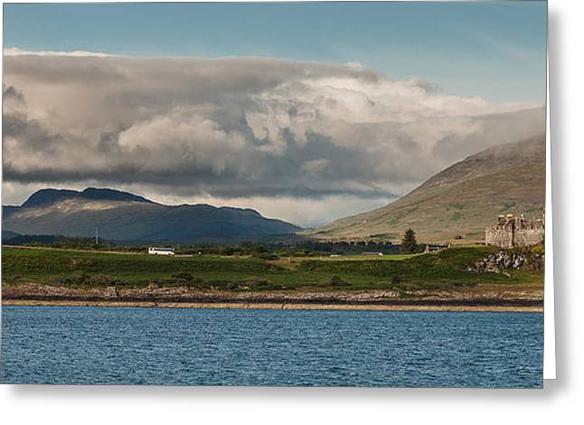 Greeting Card featuring the photograph Duart Castle by Sergey Simanovsky