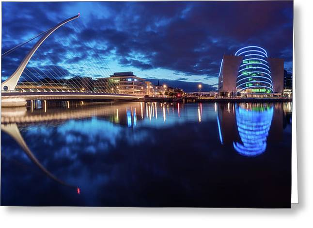 Dublin - Samuel Beckett Bridge Greeting Card