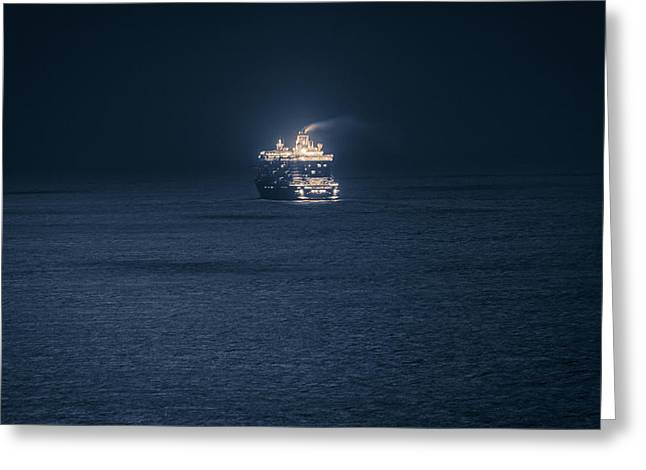 Dubrovnik Cruiser Greeting Card by Matti Ollikainen