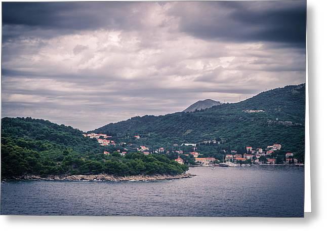 Dubrovnik Landscape Greeting Card by Matti Ollikainen