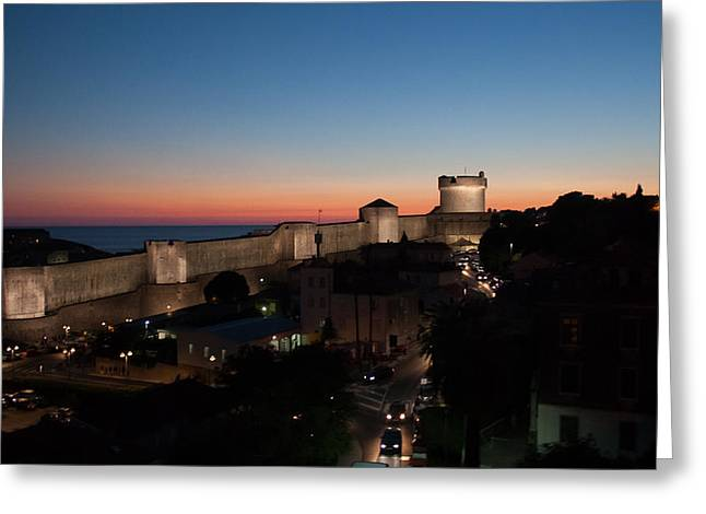 Dubrovnik Greeting Card by Silvia Bruno