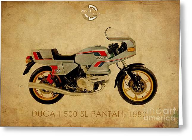 Ducati 500 Sl Pantah 1980 Greeting Card