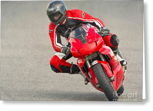 Ducati 900 Supersport Greeting Card by Jerry Fornarotto