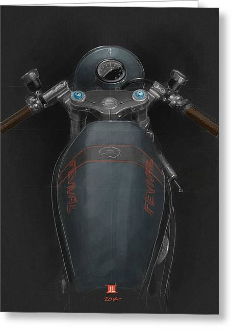 Ducati Greeting Card