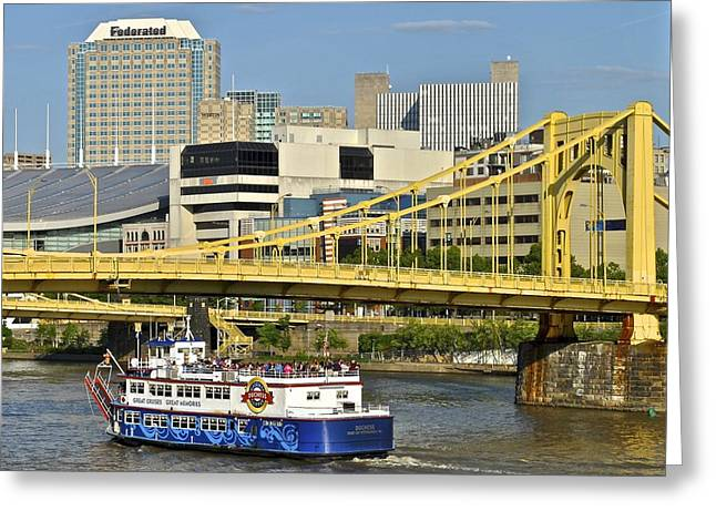Duchess Cruise Pittsburgh Greeting Card