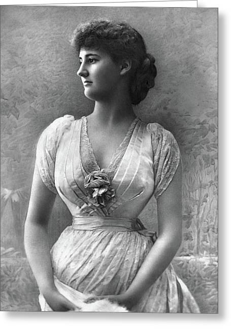 Duchess Of Leinster (1864-1895) Greeting Card