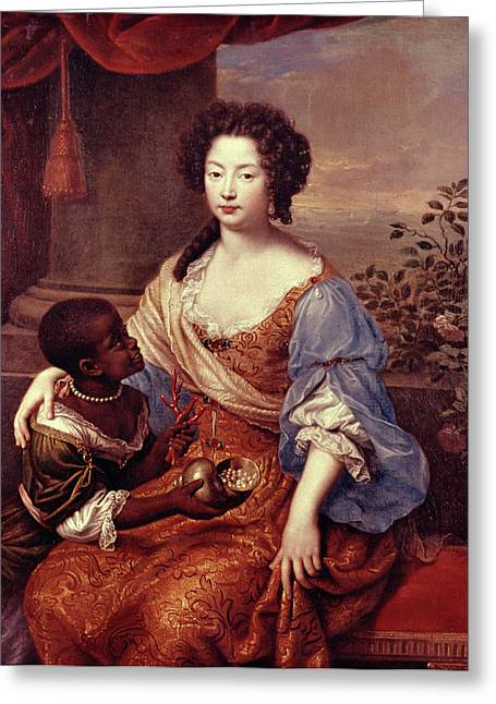 Duchess Of Portsmouth (1649-1734) Greeting Card