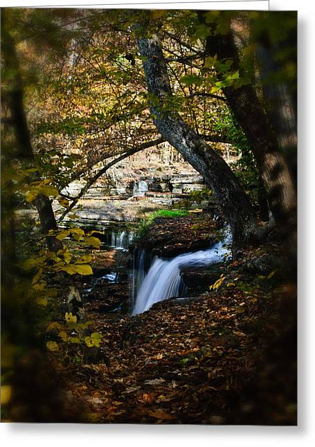 Duck River Falls Greeting Card