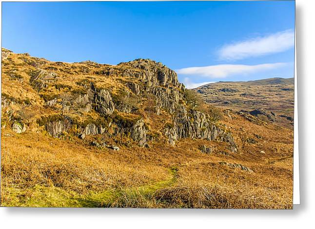 Duddon Valley Lake District Greeting Card by Trevor Kersley