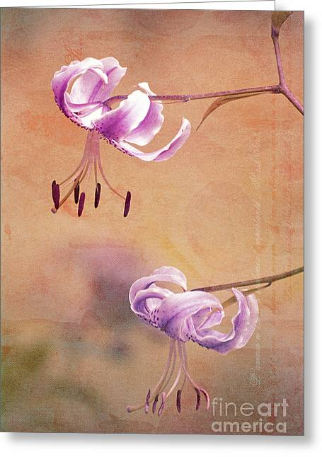 Duet - V05b Greeting Card by Variance Collections
