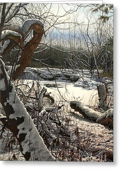 Duffins Creek 3 Greeting Card