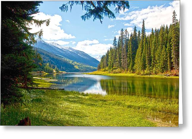 Duffy Lake 1 Greeting Card by Randy Giesbrecht