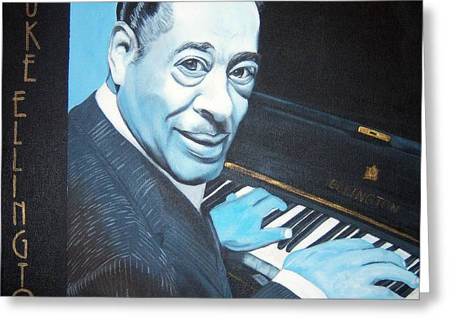 Duke Ellington Greeting Card