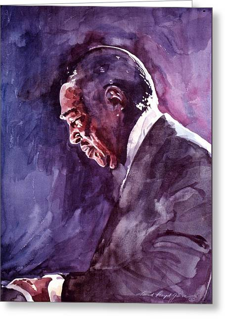 Duke Ellington Mood Indigo Sounds Greeting Card