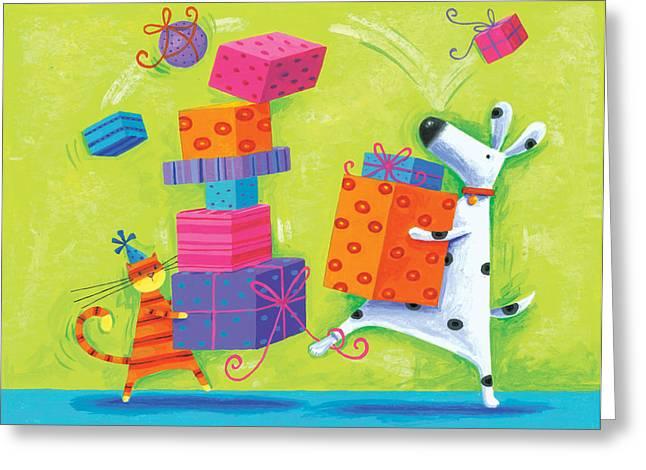 Dukes Birthday Greeting Card