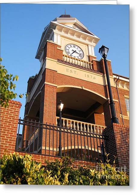 Duluth Clock Tower Greeting Card