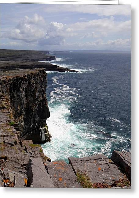 Dun Aengus Cliffs Greeting Card