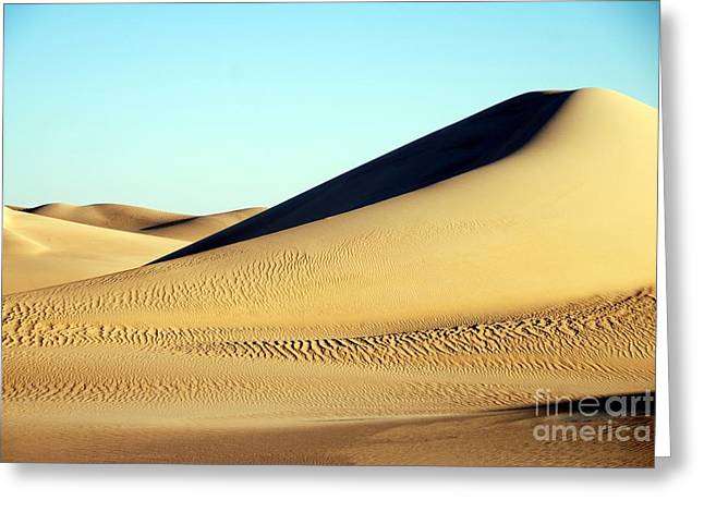 Duna Mar De Arenas Greeting Card by Fernando Cano Cobos