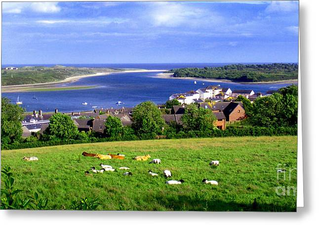 Dundrum Bay In County Down Ireland Greeting Card by Nina Ficur Feenan