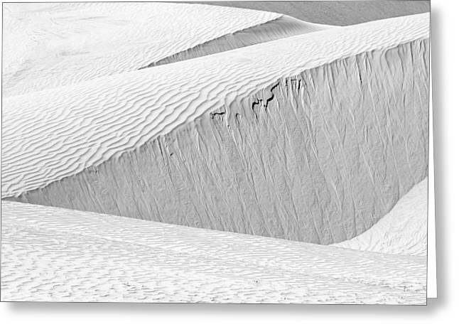 Dune Abstract, Paryang, 2011 Greeting Card